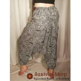 Bogyós Aladdin mintás nadrág