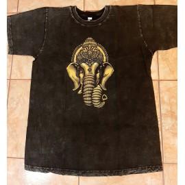 Koptatott póló- szürke, Ganésa szimbólummal