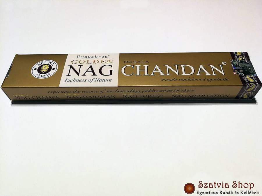 Nag Chandan Golden füstölő